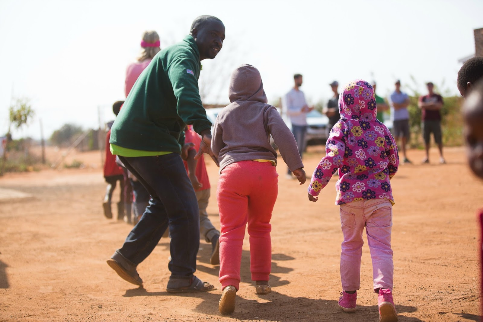 Pastor Norman lives in a community called Maubane, South Africa. It is ...