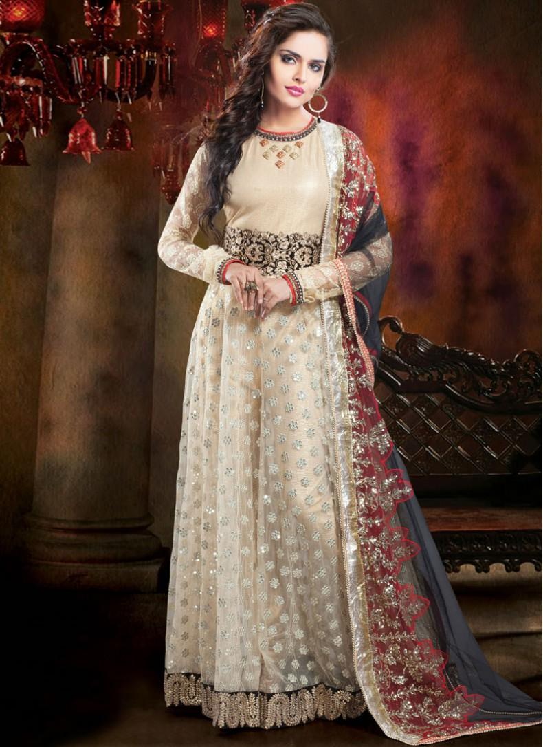Indian Wedding Gowns Online 25 Fancy New Stylish Designer Floor