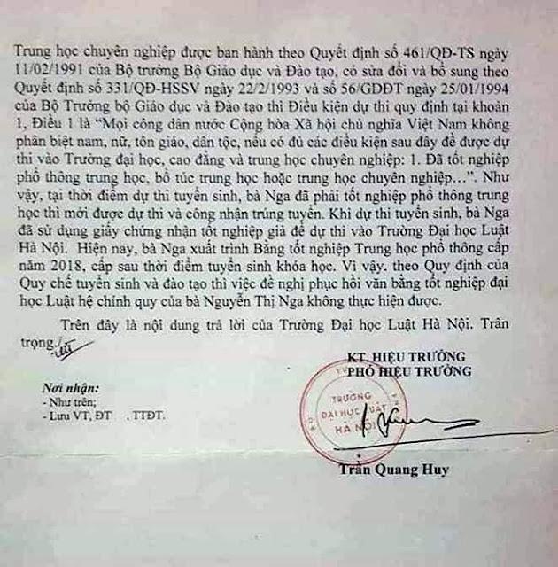 Thực sự Thẩm phán tòa án nhân dân tỉnh Thái Nguyên xài bằng giả?