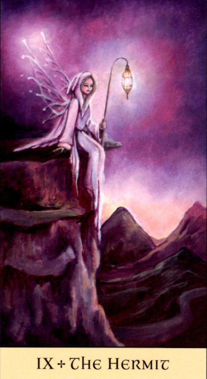 The Hermit Tarot Card Meaning In Readings Isolation: 78 Whispers In My Ear: Monday Majors: Theme For The Week