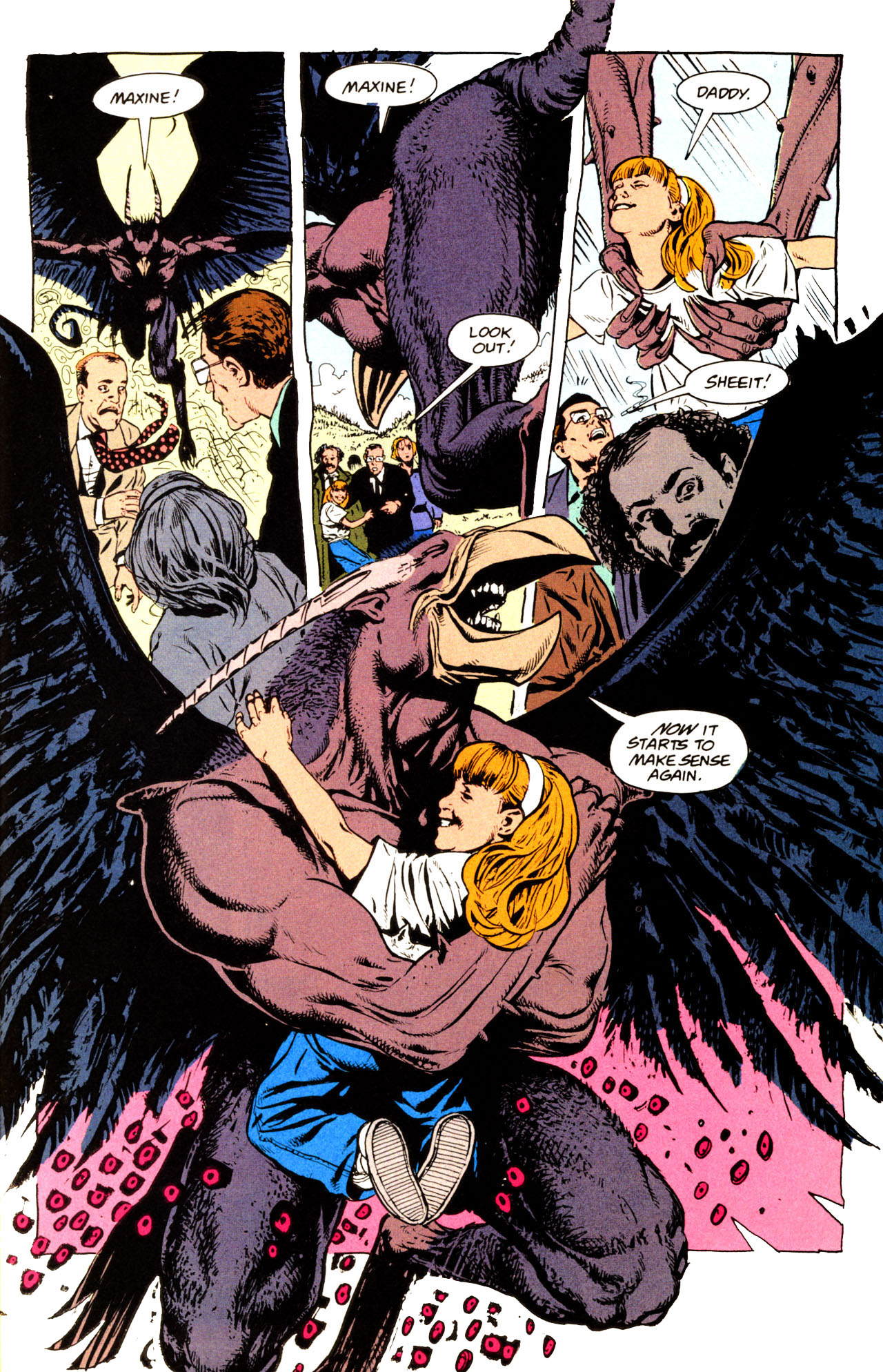 Read online Animal Man (1988) comic -  Issue #72 - 14