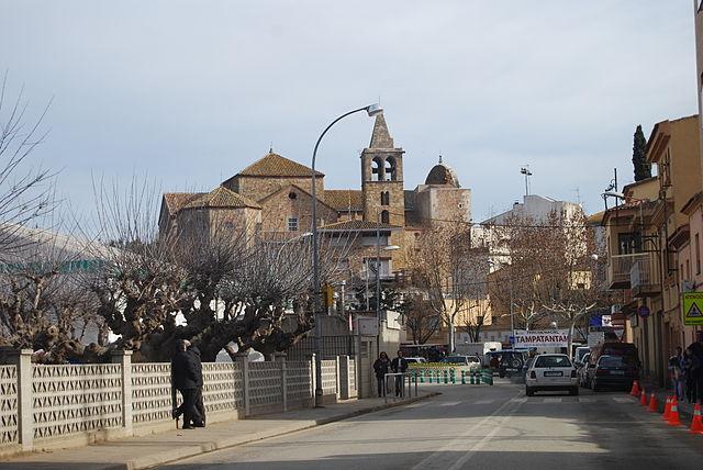 Vista general de Tordera (Maresme).