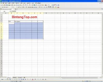 Kingsoft Spreadsheet – sebagai pengganti Ms Excel