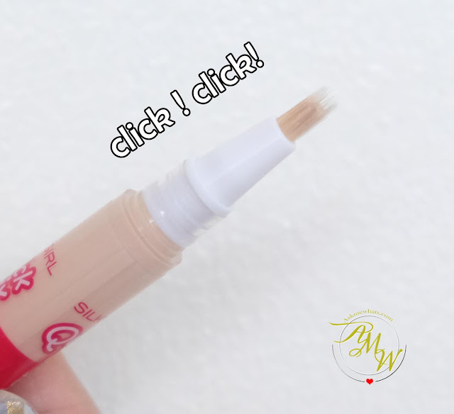 a photo of SilkyGirl Quick Fix Care Concealer Review
