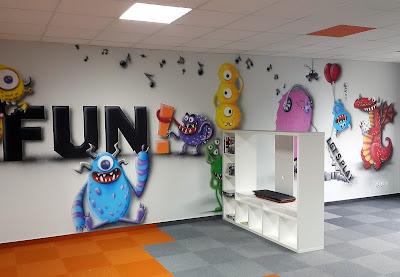 Artystyczne malowanie ścian, malowanie obrazów na ścianach, mural 3D, obrazy 3D na ściany