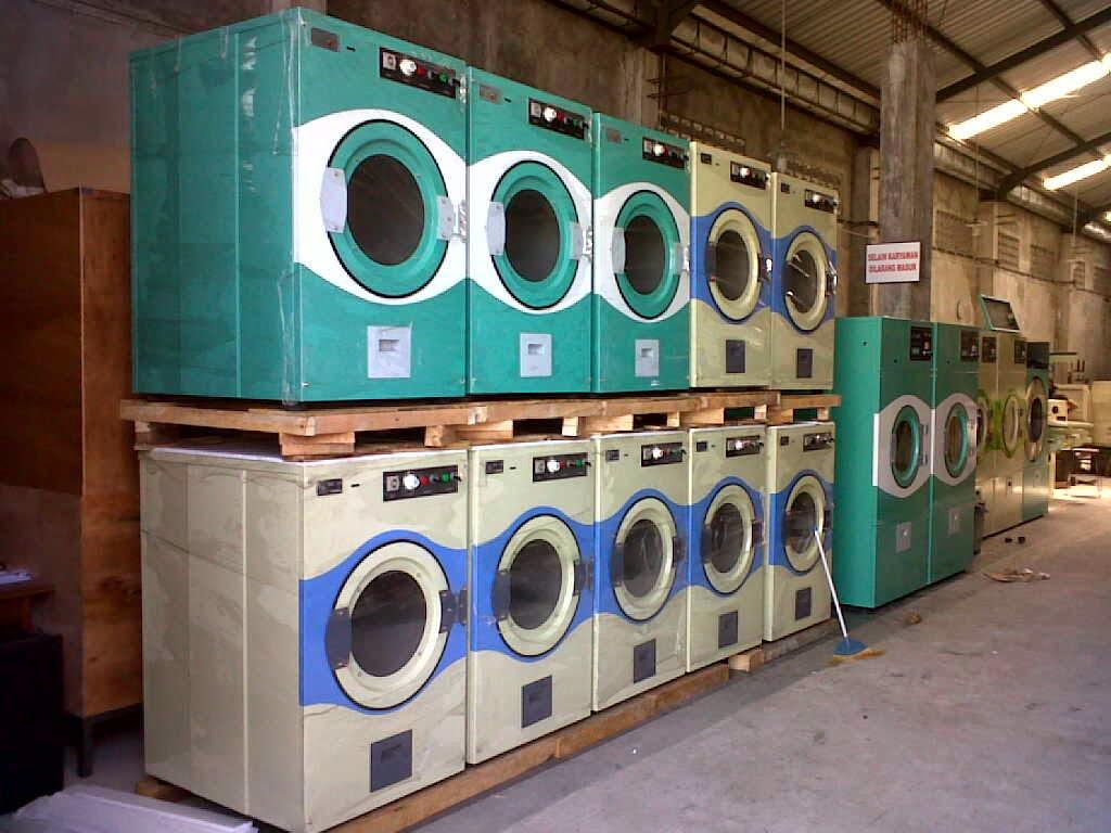 mesin laundry rumah sakit