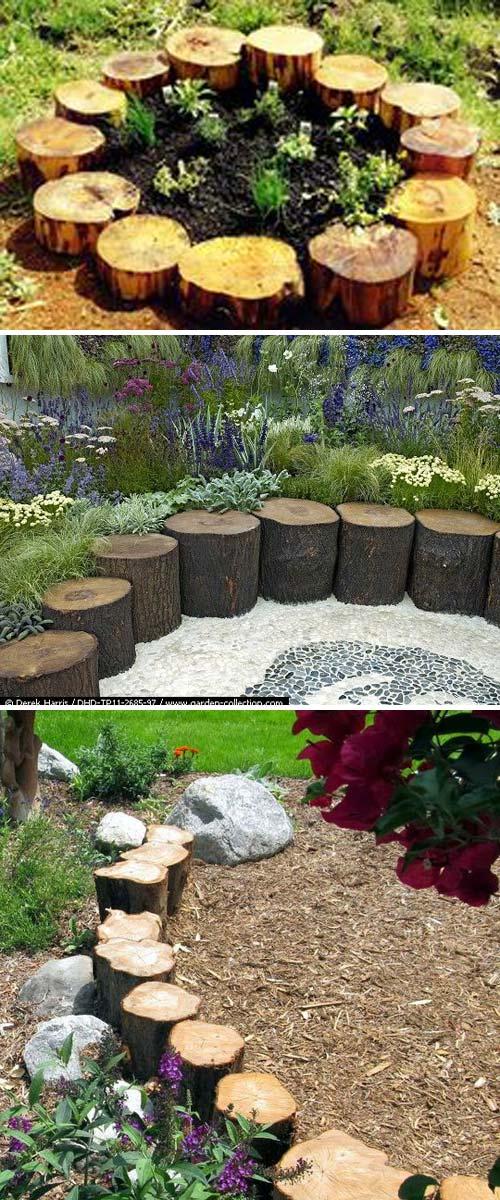 Ιδέες για Μοναδικά διαχωριστικά Κήπου