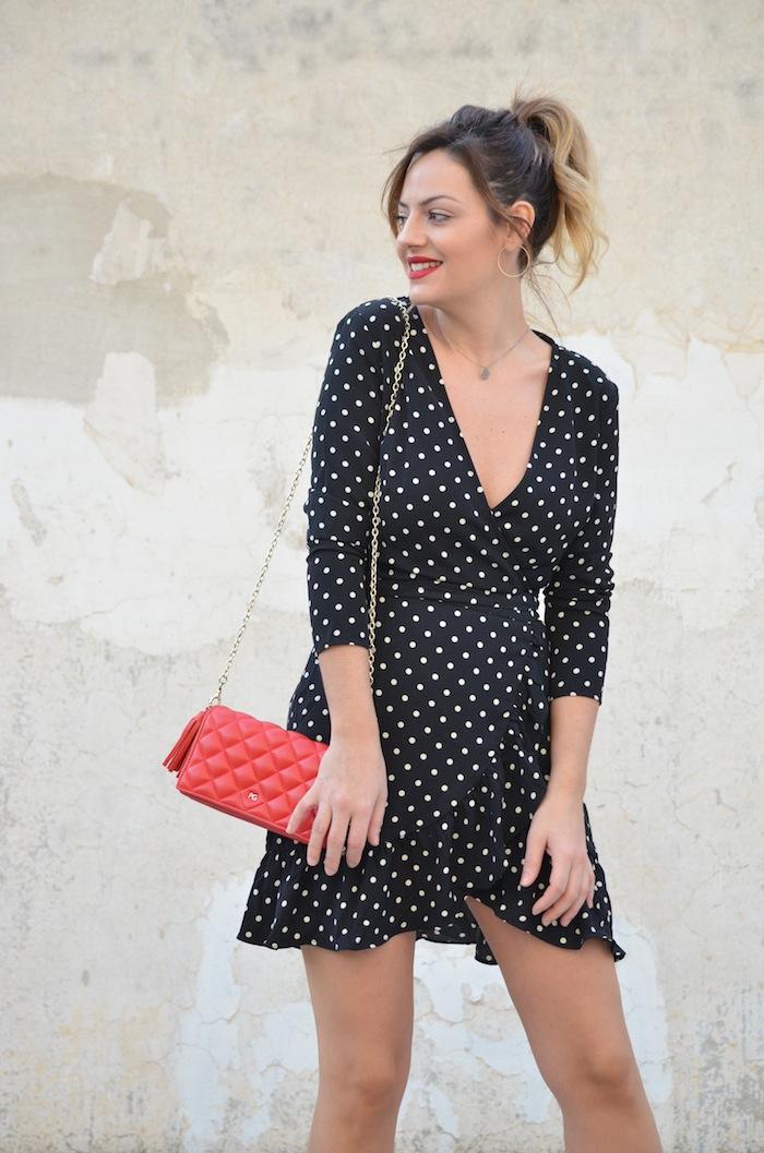 4fda8bf98 Trendy Shopper  Polka Dot Dress