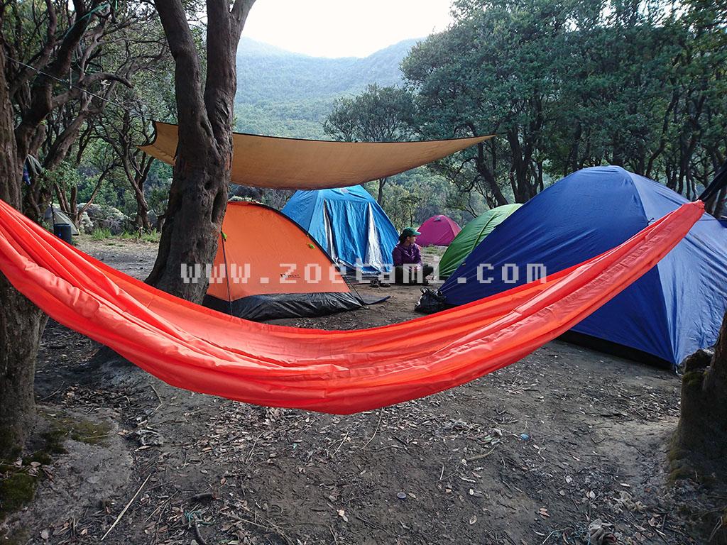 Camping di Pondok Saladah Gunung Papandayan