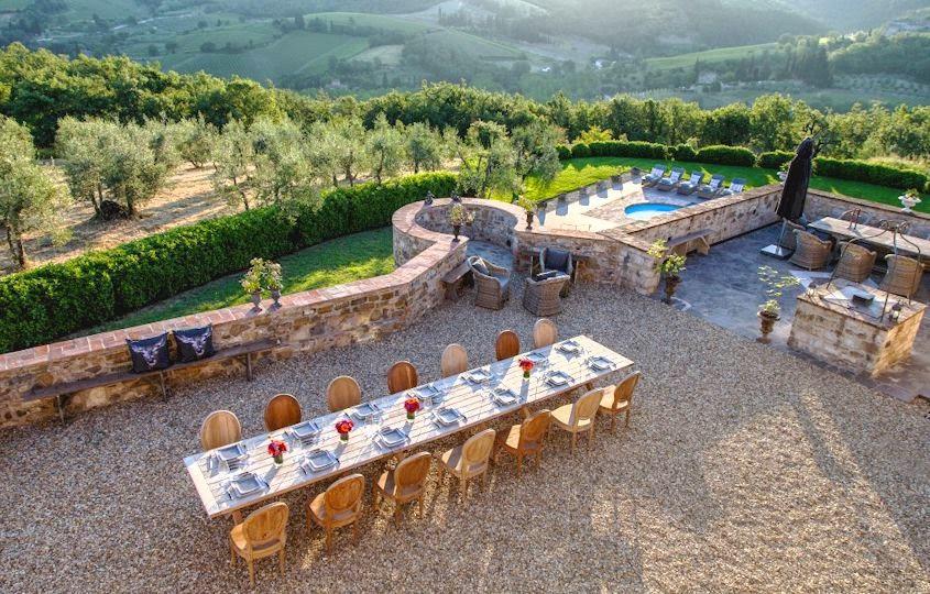 Wedding in Tuscany - Villa Vitigliano