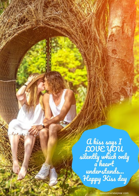 #KissDay Quotes for girlfriend