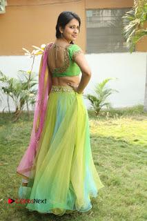 Actress Nikitha Bisht Stills in Lehenga Choli at Pochampally Ikat Art Mela Launch  0421.JPG