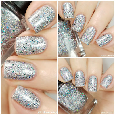 Colors By Llarowe Home For The Holidays December 2017 POTM Swatches and Review