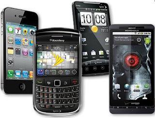 O predomínio de smartphones