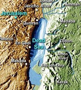 Deadseamap Manuscrisele De La Marea Moarta - Nag Hammadi - Qumran