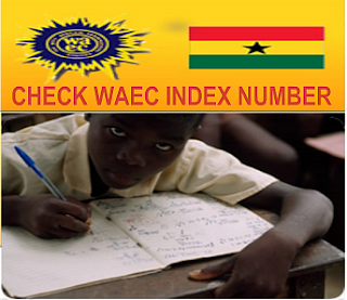 Ghana WAEC WASSCE index number check 2016/2017
