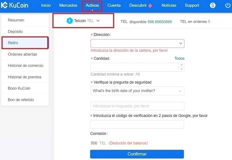 Comprar Telcoin (TEL) Con Euros y Dolares en España Fácil Guía