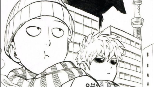 'One-Punch Man' Illustrator Shares Special New Year Sketch