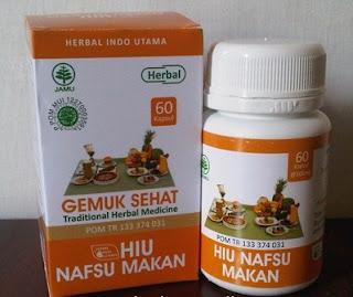 Obat gemuk badan Hiu Nafsu makan herbal alami tradisional