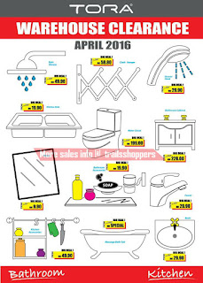 Big Bath Tora Warehouse Clearance Sale