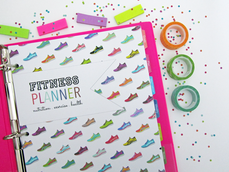 photograph regarding Printable Fitness Planner called Fresh new Lifestyle and Property: Printable Health Planner [Letter Dimensions