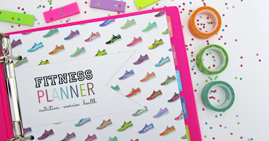 Printable Fitness Planner [Letter Size + A5!]