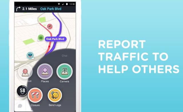 """Waze - GPS - Χάρτες & Κίνηση: Το κοινωνικό δίκτυο """"ζωντανής"""" πλοήγησης της Google"""