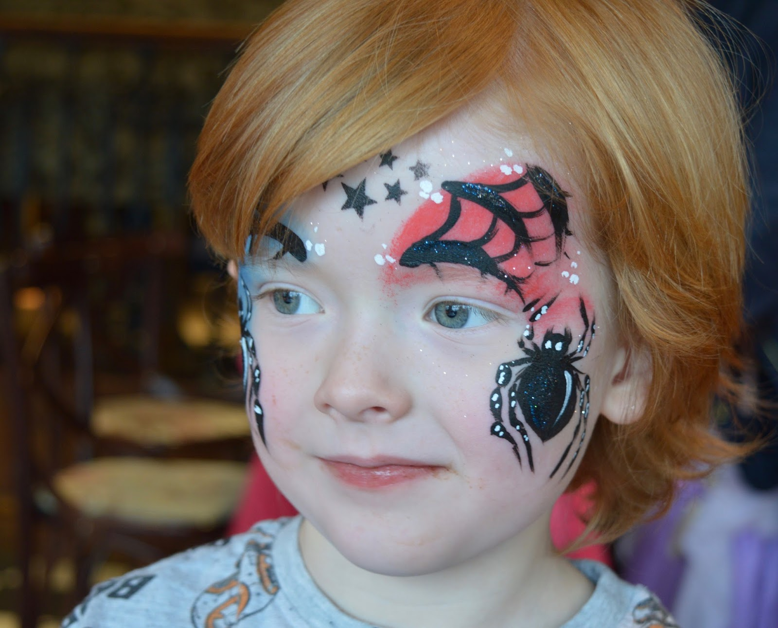 Kids Club free face painting at Liberty Brown, Sunderland