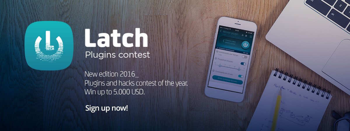 ElevenPaths Blog: Latch Plugins Contest 2016 is over