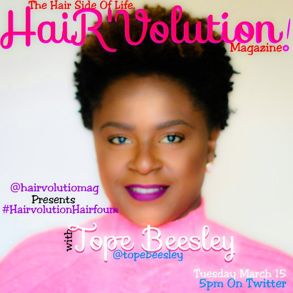 TOPE BEESLEY- THE MARRIAGE BETWEEN AROMATHERAPY & HAIR.