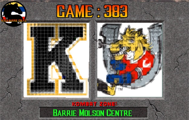 Game Preview: Barrie Colts vs Kingston Frontenacs. #OHL