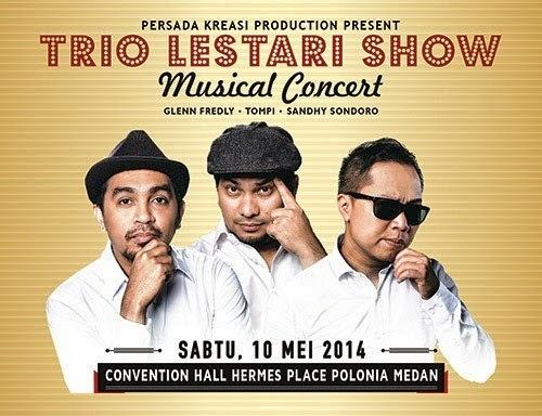 Trio Lestari Show di Medan