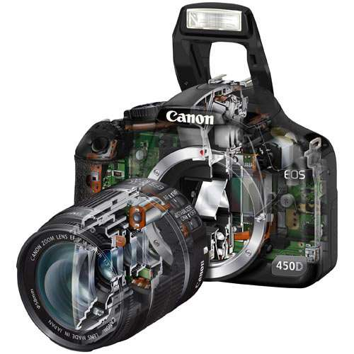 features of DSLR camera