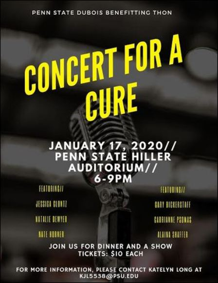 1-17  Concert for a Cure