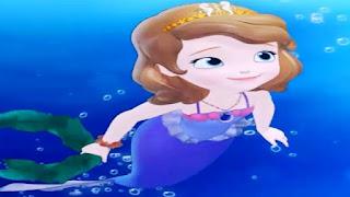 Gambar Kartun Sofia Putri Duyung