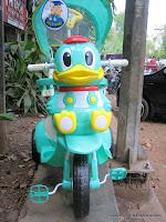 1 Sepeda Roda Tiga GoldBaby F7-1 Bebek Full Body