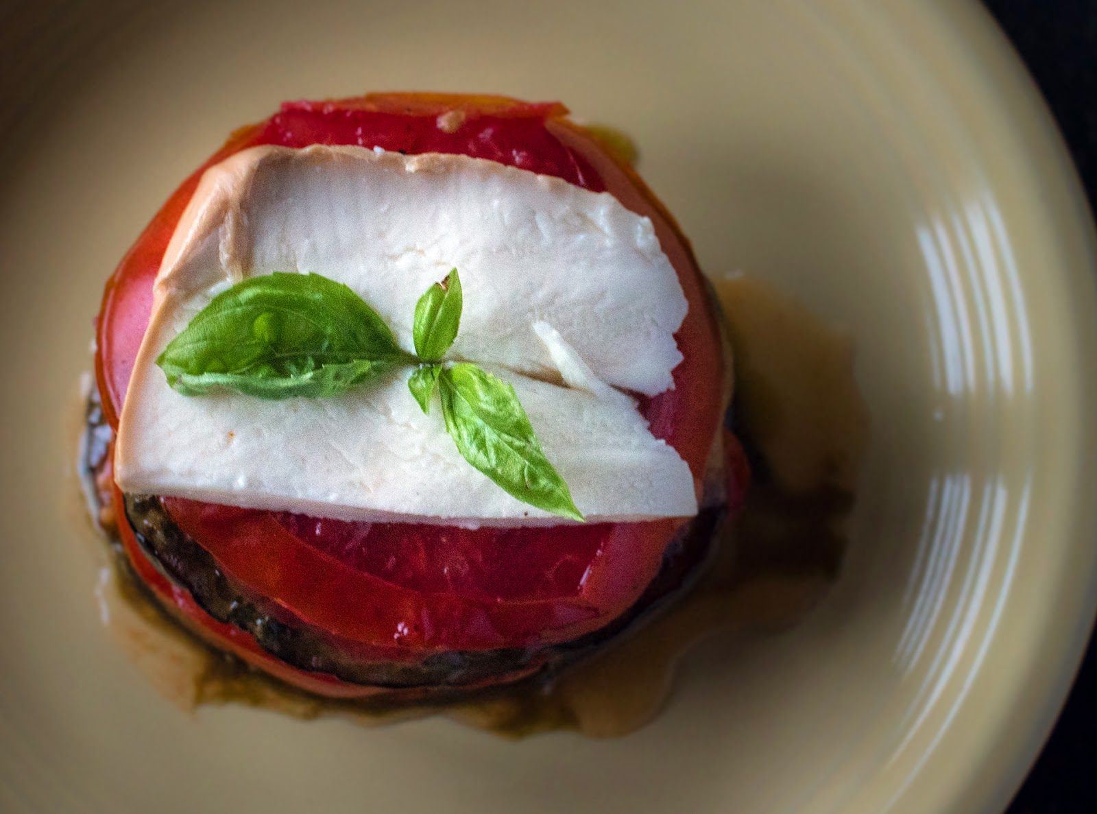 Grilled Eggplant and tomato Stacks with Mozzarella and Pesto | Local Food Rocks