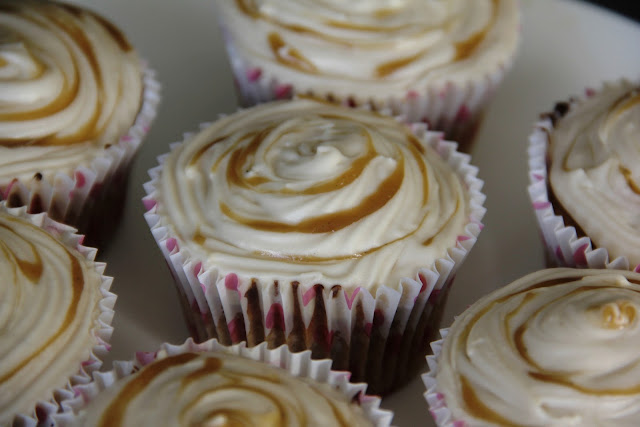 Toffee Apple Cupcakes.