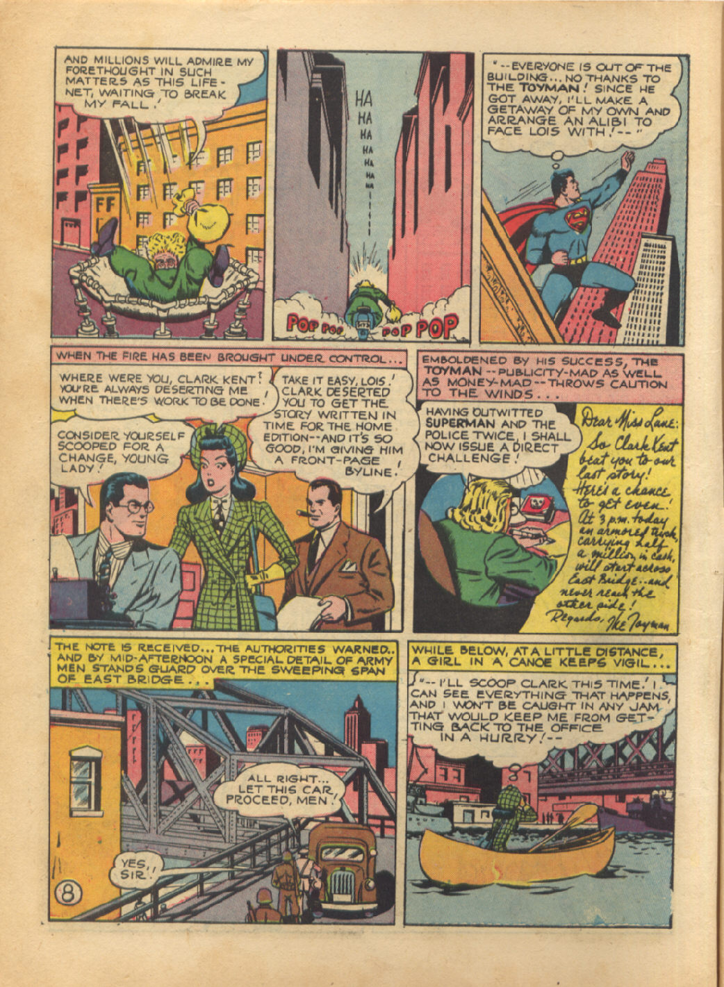 Read online Action Comics (1938) comic -  Issue #64 - 10