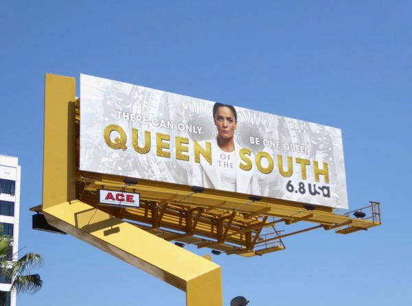Queen of the South season 2 billboard