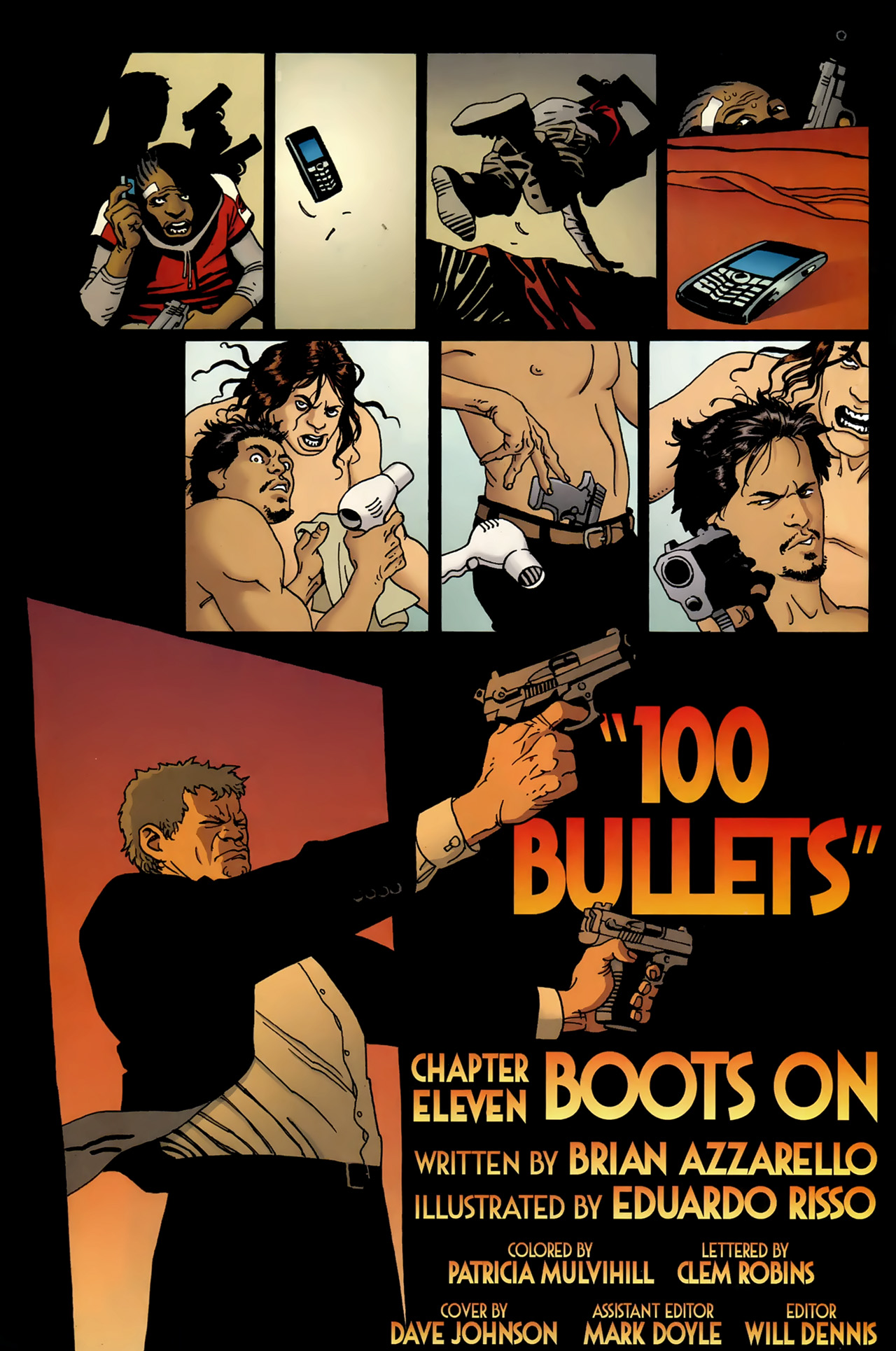 Read online 100 Bullets comic -  Issue #99 - 5