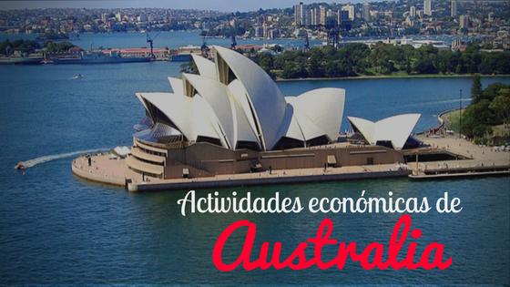 Actividades económicas de Australia