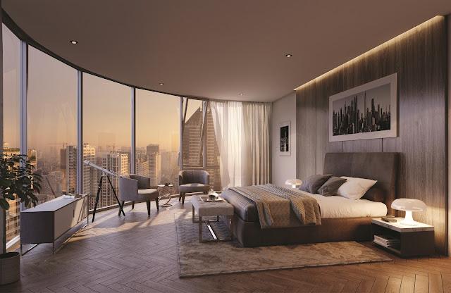 Thiết kế căn hộ sang trọng, tầm view đắt giá tại BRG Grand Plaza