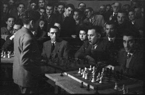 Simultáneas de Arturito Pomar en Lérida el 17 de abril de 1946 (18)