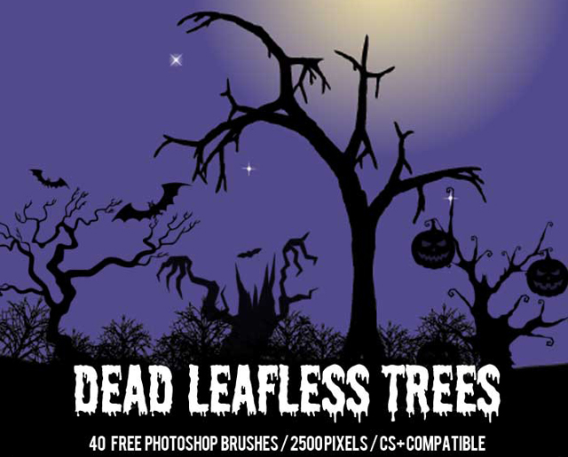 40+ Dead Trees Brushes