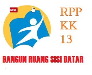 RPP bangun ruang sisi datar kurikulum 2013