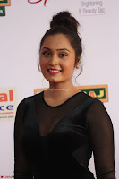 Vennela in Transparent Black Skin Tight Backless Stunning Dress at Mirchi Music Awards South 2017 ~  Exclusive Celebrities Galleries 047.JPG