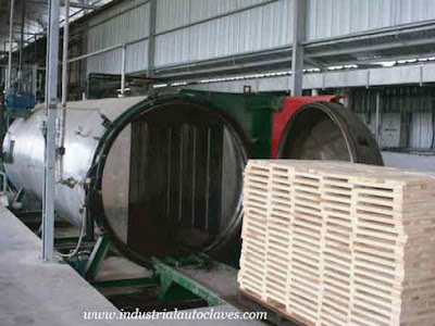 Wood Impregnating Tank Will Export to France