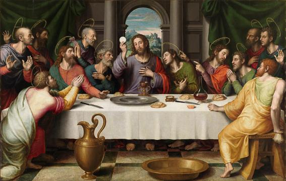 La ultima cena Juan de Juanes Museo Padro