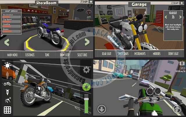 Cafe Racer Apk Mega Mod v1.0 Android Versi Terbaru Game Mod